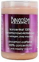 Düfte, Parfümerie und Kosmetik Sehr starkes Zimt-Koffein-Schlankheitskonzentrat - BingoSpa Concentrate 100% Caffeine Cinnamon-Treatment