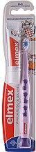 Düfte, Parfümerie und Kosmetik Kinderzahnbürste 0-3 Jahre weich violett mit Giraffen - Elmex Learn Toothbrush Soft + Toothpaste 12ml