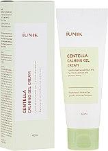 Düfte, Parfümerie und Kosmetik Beruhigende Gelcreme für das Gesicht mit Centella - IUNIK Centella Calming Gel Cream
