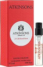 Düfte, Parfümerie und Kosmetik Atkinsons 24 Old Bond Street - Eau de Cologne (Probe)