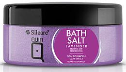 Düfte, Parfümerie und Kosmetik Badesalz mit Lavendelduft - Silcare Quin Bath Salt Lavender