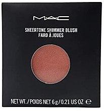 Düfte, Parfümerie und Kosmetik Zartes Rouge mit leichtem Schimmer für natürliche Wangen Nachfüller - MAC Sheertone Shimmer Blush Refill