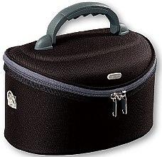 Düfte, Parfümerie und Kosmetik Große Kosmetiktasche oval 95047 schwarz - Top Choice Oval Black