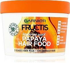 Düfte, Parfümerie und Kosmetik Haarmaske für geschädigtes Haar mit Papaya - Garnier Fructis Papaya Hair Food Mask