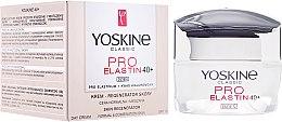 Düfte, Parfümerie und Kosmetik Gesichtsreme für normale und Mischhaut 40+ - Yoskine Classic Pro-Elastin Day Cream 40+