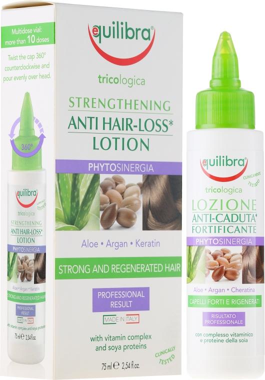 Stärkende Lotion gegen Haarausfall mit Aloe, Argan und Keratin - Equilibra Tricologica — Bild N1