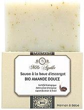 Düfte, Parfümerie und Kosmetik Zertifizierte Bio Mandelseife mit Schneckenschleim-Extrakt - Mlle Agathe
