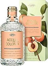 Düfte, Parfümerie und Kosmetik Maurer & Wirtz 4711 Acqua Colonia White Peach & Coriander - Eau de Cologne