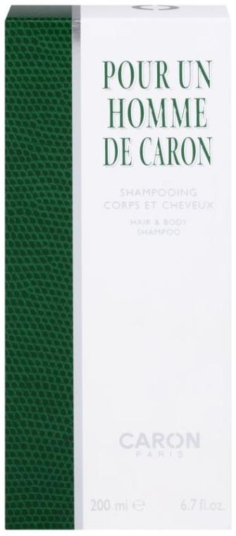 Caron Pour Un Homme de Caron - Shampoo für Haar und Körper — Bild N2