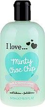 Düfte, Parfümerie und Kosmetik Bade- und Duschcreme mit Minze - I Love... Minty Choc Chip Bath and Shower Creme