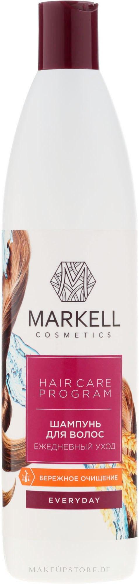 "Shampoo ""Tägliche Pflege"" - Markell Cosmetics Everyday — Bild 500 ml"