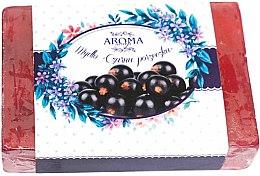 Düfte, Parfümerie und Kosmetik Handgemachte Naturseife Schwarze Johannisbeere - Delicate Organic Aroma Soap