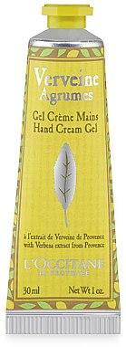 Feuchtigkeitsspendendes Handcreme-Gel mit erfrischendem Duft - L'Occitane Citrus Verbena Hand Cream — Bild N1