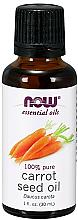 Düfte, Parfümerie und Kosmetik Ätherisches Öl Karottensamen - Now Foods Essential Oils 100% Pure Carrot Seed Oil