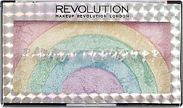 Flüssiger Highlighter - Makeup Revolution Rainbow Highlighter — Bild N3