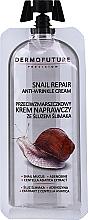 Düfte, Parfümerie und Kosmetik Regenerierende Anti-Falten Gesichtscreme mit Schneckenschleim-Extrakt - Dermofuture Snail Repair Anti-Wrinkle Cream