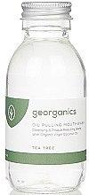 Düfte, Parfümerie und Kosmetik Mundziehöl mit Kokosöl und Teebaumöl - Georganics Tea Tree Mouthwash