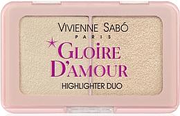 Düfte, Parfümerie und Kosmetik Highlighter-Palette - Vivienne Sabo Vs Gloire D'Amour
