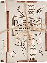 Düfte, Parfümerie und Kosmetik Festes Shampoo für fettiges und normales Haar - Dushka