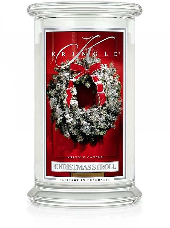 Duftkerze Christmas Stroll im Glas - Kringle Candle Christmas Stroll — Bild N1
