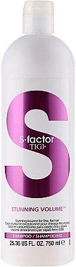 Volumen-Shampoo für feines Haar - Tigi S Factor Stunning Volume Shampoo — Bild N3