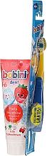 Düfte, Parfümerie und Kosmetik Mundpflegeset für Kinder - Bobini (Zahnbürste weich + Zahnpasta 75ml)