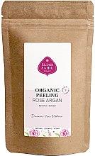 Düfte, Parfümerie und Kosmetik Glättendes und verfeinerndes Bio Körperpeeling mit Himalyasalz, Argan und Rose - Eliah Sahil Organic Peeling Rose Argan (Nachfüllbeutel)