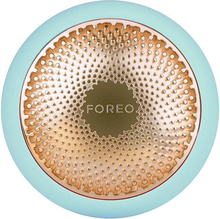 UFO-Beauty-Gerät minzgrün mit Led-thermoaktivierende Smart-Maske - Foreo UFO Smart Mask Treatment Device Mint