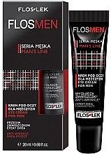 Düfte, Parfümerie und Kosmetik Anti-Aging Augencreme für Männer - Floslek Flosmen Eye Cream For Men Anti-Wrinkle