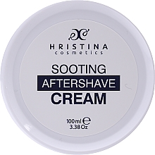 Düfte, Parfümerie und Kosmetik Beruhigende After Shave Creme - Hristina Cosmetics Soothing After Shave Cream