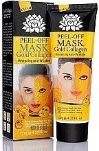 Düfte, Parfümerie und Kosmetik Anti-Falten Peel-Off Gesichtsmaske mit Gold und Kollagen - Peel Off Mask Gold Collagen