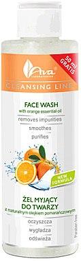 Gesichtsreinigungsgel mit ätherischem Orangenöl - Ava Laboratorium Cleansing Line Face Wash With Orange Essential Oil — Bild N1