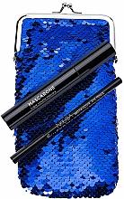 Düfte, Parfümerie und Kosmetik Make-up Set (Mascara 6.5g + Augenkonturenstift 1.1g + Kosmetiktasche) - NoUBA Eye'M Mascarone Triple Volume Mascara