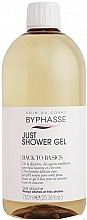 Düfte, Parfümerie und Kosmetik Duschgel für trockene und sehr trockene Haut - Byphasse Back To Basics Just Shower Gel Dry And Very Dry Skin