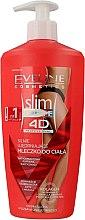 Düfte, Parfümerie und Kosmetik Anti-Cellulite Milch mit kühlender Wirkung - Eveline Cosmetics Slim Extreme 4d Milk