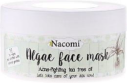 "Düfte, Parfümerie und Kosmetik Alginat-Gesichtsmaske ""Grüner Tee"" - Nacomi Professional Face Mask"