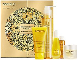 Düfte, Parfümerie und Kosmetik Set - Decleor Box of Secrets Merry Oils (balm/15ml + ser/15ml + miccelar/150ml + oil/15ml + b/exf/50ml)