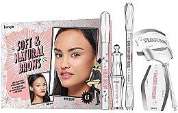 Düfte, Parfümerie und Kosmetik Make-up Set (Augenbrauenstift 0.34g + Augenbrauenstift 2.8g + Augenbrauengel 3.5ml) (02) - Benefit Soft&Natural Brow