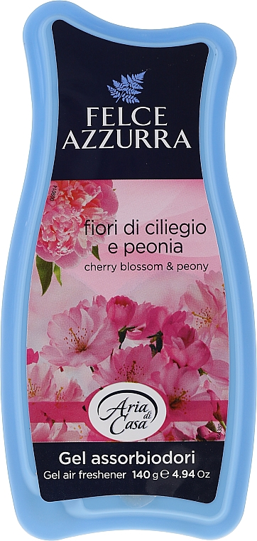 Raumduft-Gel Kirschblüten und Pfingstrose - Felce Azzurra Gel Air Freshener Sweet Harmony Talc & Cherry — Bild N1