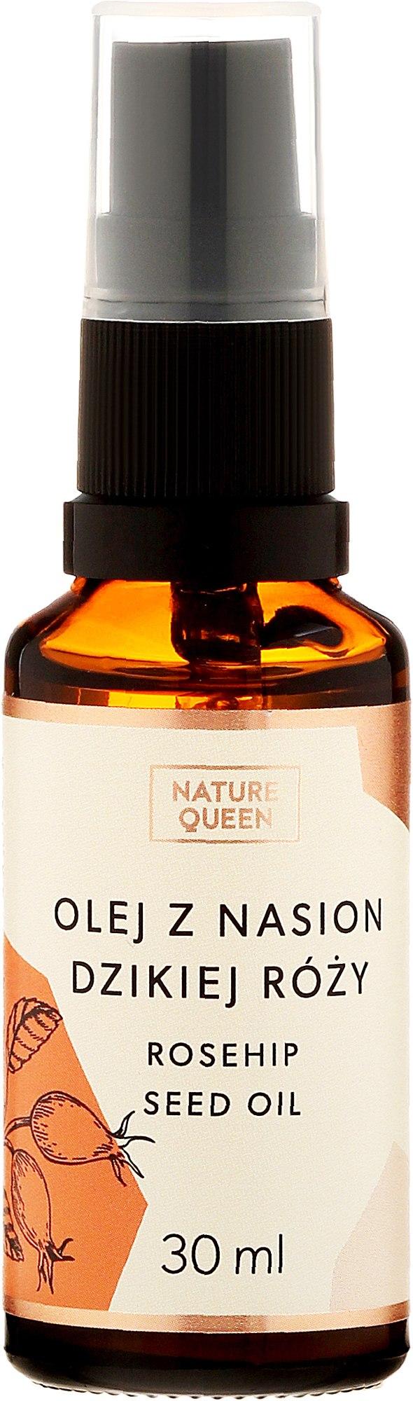 Kosmetisches Hagebuttenöl - Nature Queen Rosehip Seed Oil — Bild 30 ml