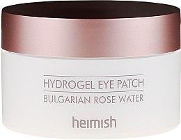 Düfte, Parfümerie und Kosmetik Hydrogel-Augenpatches mit bulgarischem Rosenwasser - Heimish Bulgarian Rose Hydrogel Eye Patch