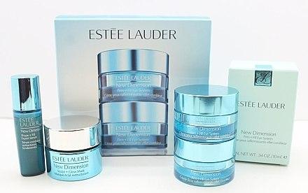 Gesichtspflegeset - Estee Lauder New Dimension Set (Creme/10ml + Serum/7ml + Maske/15ml) — Bild N3