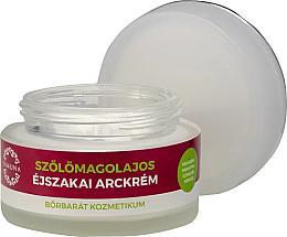 Düfte, Parfümerie und Kosmetik Nachtcreme für das Gesicht mit Traubenkernöl - Yamuna Grape Seed Oil Night Cream