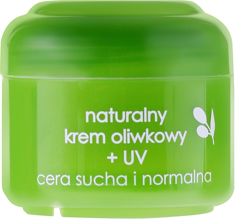 Natürliche Gesichtscreme mit Olivenöl und UV-Filter - Ziaja Face Cream