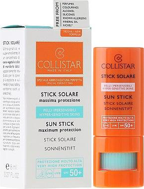 Sonnenschutz-Stick für empfindliche Bereiche SPF 30 - Collistar Sun Stick SPF 50+ — Bild N1