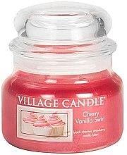 Duftkerze Cherry Vanilla Swirl - Village Candle Cherry Vanilla Swirl Glass Jar — Bild N4