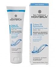 Düfte, Parfümerie und Kosmetik Feuchtigkeitsspendende und schützende Gesichtscreme für empfindliche, normale und trockene Haut SPF 10 - Montbrun Peaux Sensibles