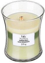 Düfte, Parfümerie und Kosmetik Duftkerze im Glas Garden Oasis - WoodWick Hourglass Trilogy Candle Garden Oasis