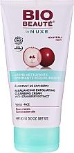 Düfte, Parfümerie und Kosmetik Peeling-Reinigungscreme mit Moosbeerextrakt - Nuxe Bio Beaute Rebalancing Exfoliating Cleansing Cream