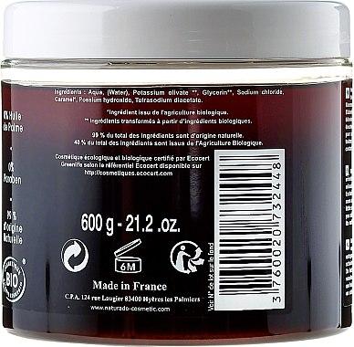 Schwarze Seife mit Olivenöl - Naturado Black Soap Hammam With Olive Oil — Bild N2